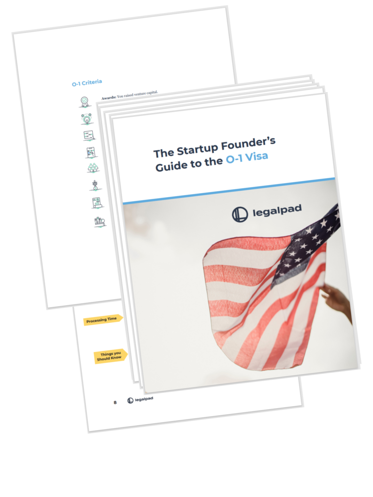 startup founders' guide to O-1 visa